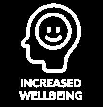 Increased Wellbeing